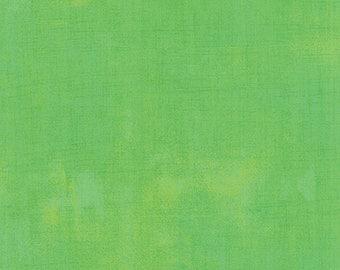 Green Textured Fabric - Kiwi Grunge by BasicGrey for Moda Fabrics 30150 304 Light Green - Priced by the 1/2 yard