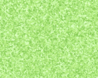 Celadon Pale Green Solid Textured Fabric - Quilting Treasures QT Basics Color Blend - 23528 HE - Priced by the 1/2 yard