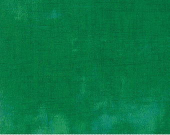 Green Grunge Fabric - BasicGrey for Moda Fabrics - 30150 390 Leprechaun - Light Green - priced by the half yard