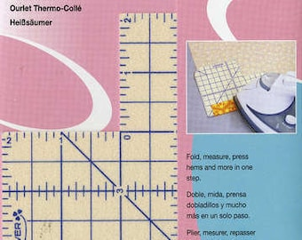 Hot Hemmer Pressing Tool  - From Press Perfect by Joan Hawley for Clover Needlecraft - 7806 cv