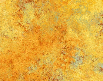 Solstice Fabric - Stonehenge 10th Anniversary - Basic Blender Gradations - Northcott  39382-59 Golden - Priced by the 1/2 yard