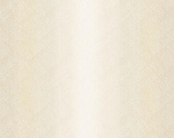 Ombre Fabric - Maywood Studio Bountiful - Blender Fabric - MAS 9305 E Cream - Priced by the 1/2 yard