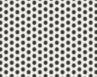 Polka Dot Fabric - Cookies n Cream Oval Elements by Art Gallery Fabrics OE 919 - Priced by the 1/2 Yard