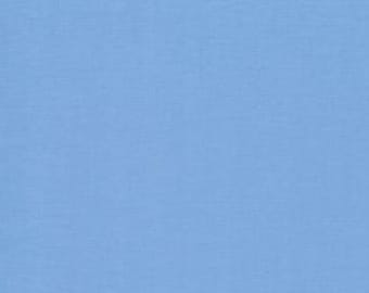 Bella Solid Little Boy Blue Fabric by Moda Basics Fabrics 9900 142 - Priced by the 1/2 yard