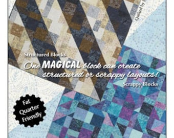 Quilt Pattern - Fat Quarter Friendly - Serendipity by Wing and a Prayer Designs - WP 155 - DIY