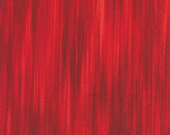 Fleurish Fabric - Striated Line Fabric by KANVAS Studio - 5619 20 Red - Priced by the 1/2 yard