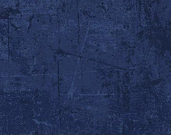 Blender Fabric - Distressed Fabric - From Paris  Always a Good Idea collection - Northcott - 22361 49 blue denim - priced by the half yard
