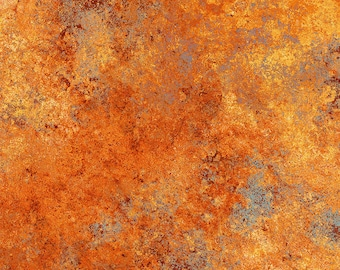Solstice Fabric - Stonehenge 10th Anniversary - Basic Blender Gradations - Northcott  39382-58 Orange - Priced by the 1/2 yard