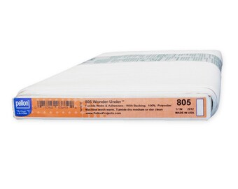 Pellon 805 Light Weight Fusible Polyester Interfacing - Priced by the yard x 17-inch wide