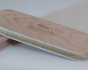 Tailors Wooden Clapper Made by Riley Blake - Seam Press - Sewing Quilting - Choose Small or Large