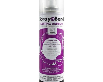 Spray N Bond - Basting Adhesive - Temporary Adhesive - Therm O Web - Acid Free - 7.2 Ounces (204g)