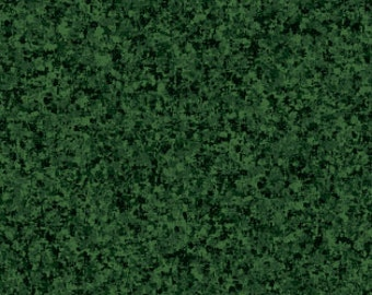 Evergreen Solid Textured Fabric - Quilting Treasures QT Basics Color Blend - 23528 FJ - Priced by the 1/2 yard