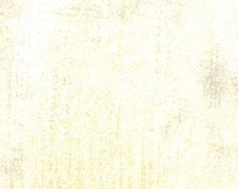 Grunge Basics Fabric by Basic Grey for Moda Fabrics 30150 160 Cream - Priced by the 1/2 yard