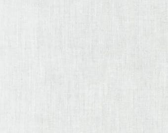 Voile Fabric, Lightweight Fabric, Collage Base Fabric - Kaufman Fabrics - C274 - WHITE - 58 Inch wide, priced by the half yard