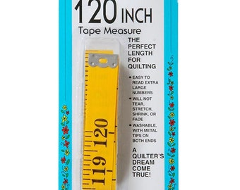 Collins 120-Inch Tape Measure Big Yellow Extra Wide (3/4 inch) - Collins c250