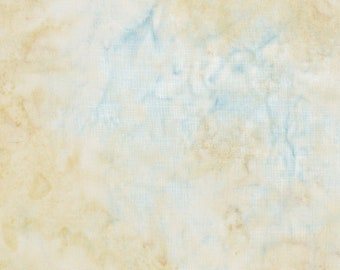 Hoffman Mottled Bali Batik -  Hoffman Fabrics - 1384 33 Cream Tonal  - Priced by the Half Yard