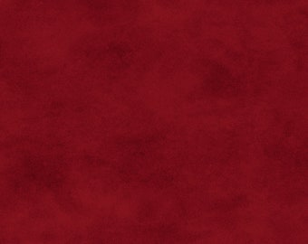 Solid Fabric, Blender Fabric - Shadow Play by Maywood Studios MAS513 R53 Christmas Red - Priced by the 1/2 yard
