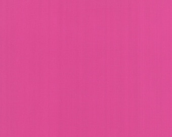 Bella Solid Pink Petunia Fabric by Moda Basics Fabrics 9900 301 - Priced by the 1/2 yard