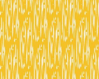 Art Gallery Fabric - Shibori Sun from Joie De Vivre by Bari J for Art Gallery JOI 79128 Yellow, half yard price