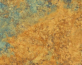 Solstice Fabric - Stonehenge 10th Anniversary - Basic Mixer Gradations - Northcott  39300 68 Golden Blue - Priced by the Half Yard
