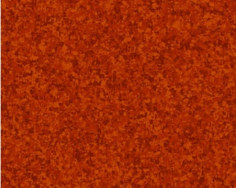 Paprika Brown Solid Textured Fabric - Quilting Treasures QT Basics Color Blend - 23528 T - Priced by the 1/2 yard