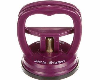 Ruler Gripper, Gypsy Gripper, Ruler Handle - Gypsy Quilter - TGQ 002 - Purple