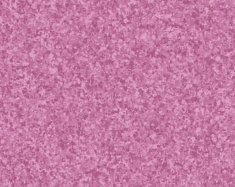 Orchid Purple Solid Textured Fabric - Quilting Treasures QT Basics Color Blend - 23528 VD - Priced by the 1/2 yard