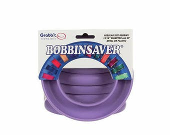 Bobbin spool holder - Bobbin Saver - Euro Notions (Made in the USA) - Standard Size (Red or Purple) - M Size (Green) - Bobbins not included)