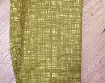 Ghastlie Weave - Alexander Henry Fabric - Coordinate to Ghastlie  - 8593 Gr Dark Olive - Priced by the 1/2 yd