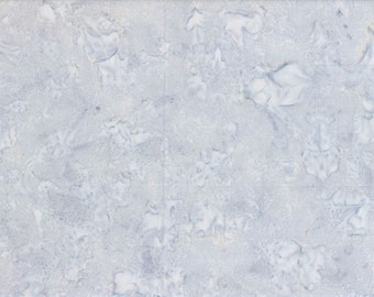 Solid Batik Fabric - Wilmington Rock Candy Batik - Washed Solid -  2678 909 Light Gray - Priced by the half yard