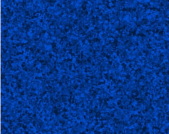 Royal Blue Solid Textured Fabric - Quilting Treasures QT Basics Color Blender - 23528 BW - Priced by the 1/2 yard
