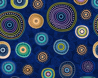 Medallions Fabric - Paintbrush Studio - Walkabout II 120 14392 - Priced by the half yard