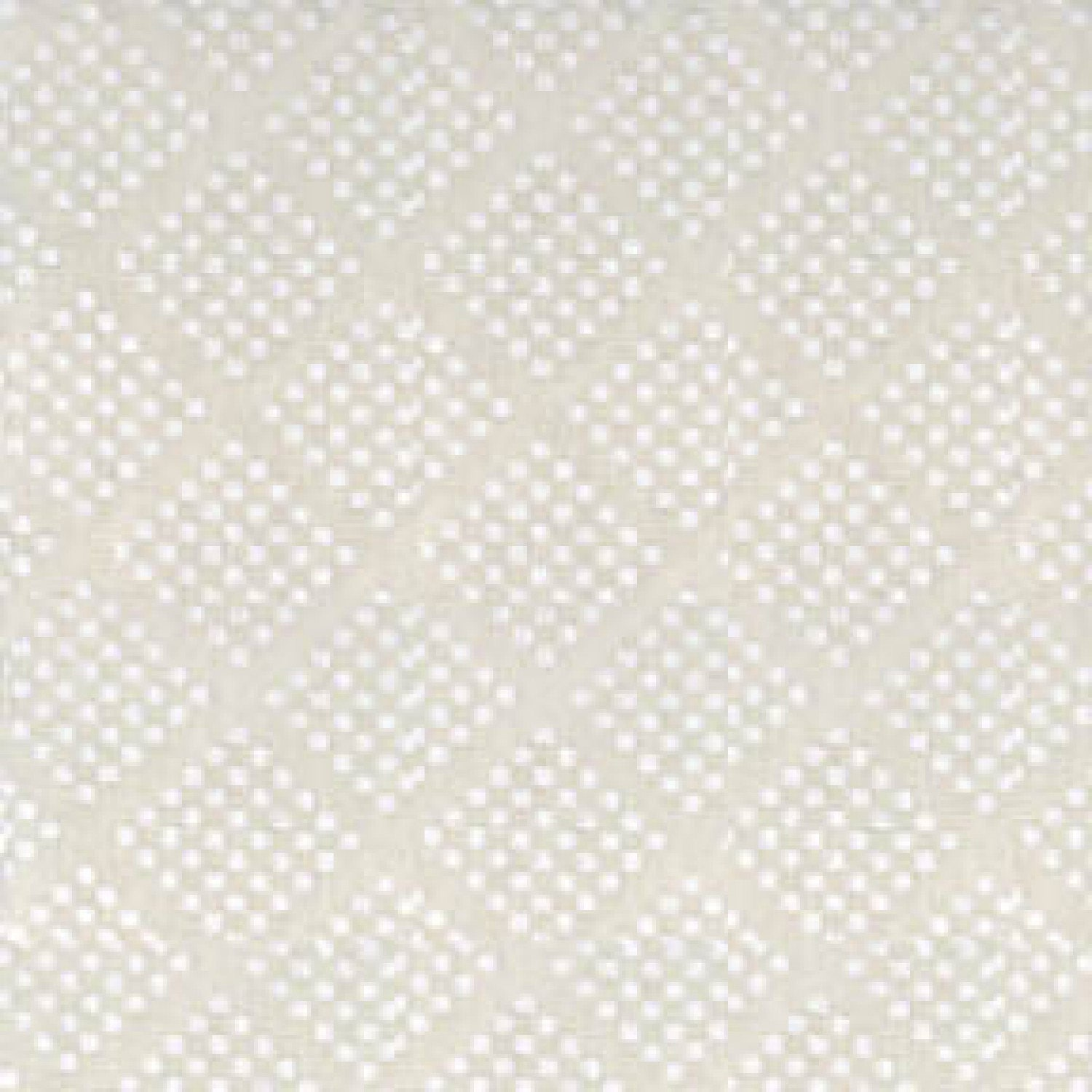Tone on Tone White Diamonds 47727 WW Priced by the half yard Solid Off-White Fabric