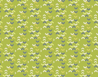 Water Fabric - River Shadows from Safari Moon by Frances Newcombe for Art Gallery SFR 6703 Green - Priced by the 1/2 yard