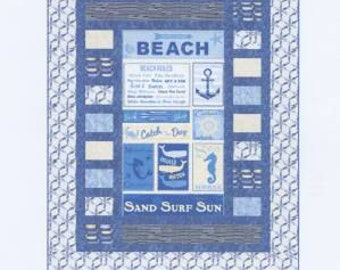 Panel Quilt Pattern - Grand Stand by Kari Nichols for Mountain Peek Creations - MPC 328 - Finishes 54 1/2in x 64 1/2in