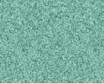 Blue Gray - Solid Textured Fabric - Quilting Treasures QT Basics Color Blend II - 23528 HQ Cyprus - Priced by the 1/2 yard