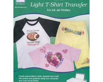 "Tee Shirt Transfer Paper, Transfer Paper, Iron On Paper - June Tailor - 3 sheets 8.5"" x 11""  JUTJT 856"