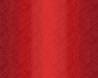 Ombre Fabric - Maywood Studio Bountiful - Blender Fabric - MAS 9305 R Red - Priced by the 1/2 yard