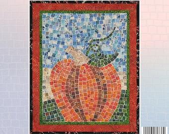 Pumpkin Mosaic - Mini Mosaic Quilts From Oy Vey Quilt Designs By Cheryl Lynch - MM736 - DIY Pattern