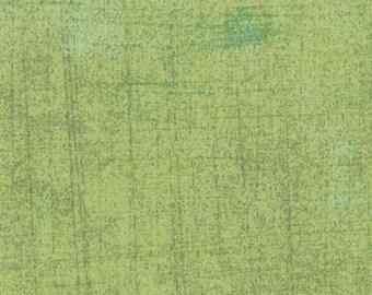 Green Textured Fabric - Pear Grunge by BasicGrey for Moda Fabrics 30150 152 Light Green - 1/2 yard