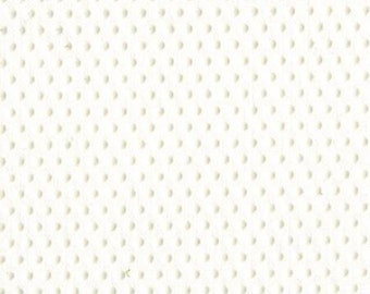 """Gripper Fabric - Grippy Dots - Grip-tight Cloth Non Slip White Dots On 1 Side - EESCO - White - CRAFT WIDTH 19 inches - Priced by 18"""" length"""