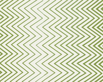 Chevron Fabric - Simply Style by V & Co for Moda Fabrics 10813 17 Lime Green - Priced by the 1/2 yard