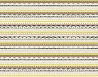 Tiny Stripe Fabric -  Lost & Found Christmas - Christmas Stripe by My Mind's Eye - Riley Blake Designs C4004 Green - Priced by the 1/2 Yard