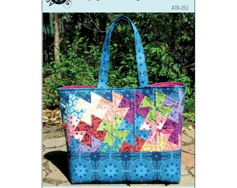 Simply Charming Twister Tote Bag - Around the Bobbin ATB-153 - Pattern Only - DIY Project