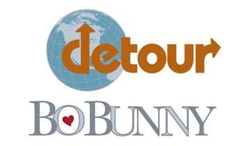 Travel Words Fabric - Destinations Detour by BoBunny for ...
