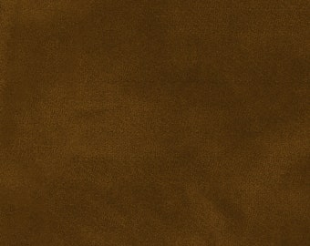 Color wash Woolies Cotton Flannel Fabric - Maywood Studios Chestnut Brown F9200 A  - Priced by the 1/2 yard