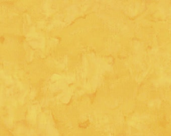 Hoffman Bali Batik - Hoffman Fabrics - 1895 110 Daffodil - Pale Yellow - Priced by the Half Yard