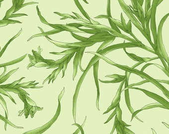 Sommersville Leaves - Maywood Studio 9832 G Green -  Priced by the half yard