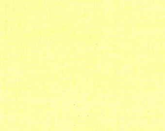 Peppered Cotton Solid Fabric - Blender Fabric - Shot Cotton -  Pepper Cory for Studio E - 24 Lemon Ice Pale Yellow - Priced by the Half yard