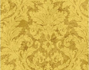 Afternoon Tea Fabric, Brocade Design (cotton weight) - Whistler Studio for Windham Fabrics  - 42828 - Priced by the 1/2 yd